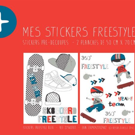 STICKER FREESTYLE BLEU – 27160101-en