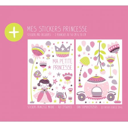 STICKER PRINCESSE MAUVE – 27160413-en
