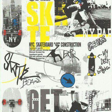 SKATE JAUNE/GRIS – 51140102-en